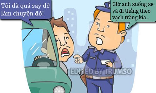 Quá say để làm theo lời cảnh sát - truyện cười Cá tháng Tư - VnExpress