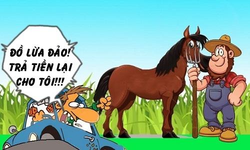 Trả giá vì phớt lờ lời cảnh báo của bác nông dân - truyện cười Cá tháng Tư - VnExpress