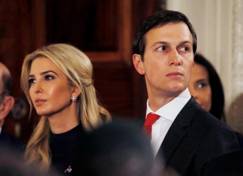 Ivanka Trump và Jared Kushner. Ảnh: Reuters