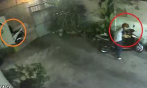 Hai thanh niên đi SH đột nhập vào nhà dân trộm xe tay ga