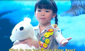 Bé 5 tuổi giỏi tiếng Anh đưa ra thông điệp ý nghĩa về môi trường