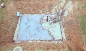 Hồ điều tiết ngầm - công nghệ chống ngập mới ở TP HCM