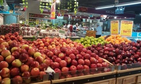Táo trong siêu thị như thế nào sau 10 tháng bảo quản?