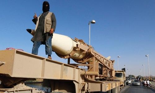 IS nhận trách nhiệm vụ phóng rocket từ Sinai, Ai Cập, sang israel. Ảnh minh họa: JPost.