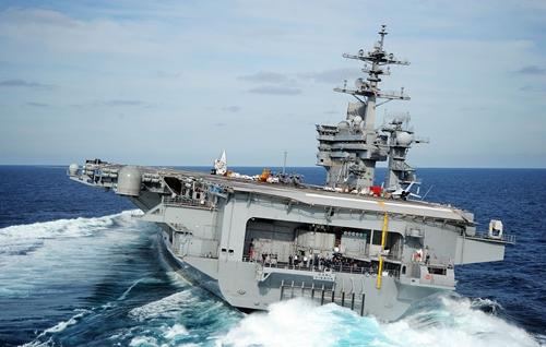 Tàu sân bay Mỹ USS Carl Vinson. Ảnh: