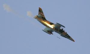Mỹ không kích phá hủy 20% số phi cơ của Syria