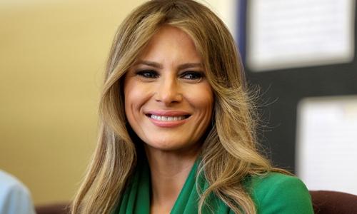 Đệ nhất Phu nhân Mỹ Melania Trump. Ảnh: Reuters.