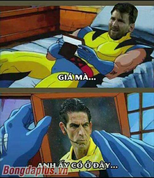 ... và Messi cũng không ngoại lệ.