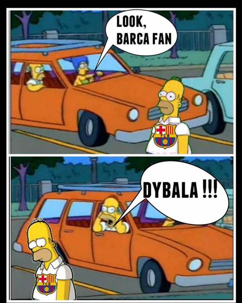 Cái tên Dybala trở thành ác mộng với những người yêu thích Barca.