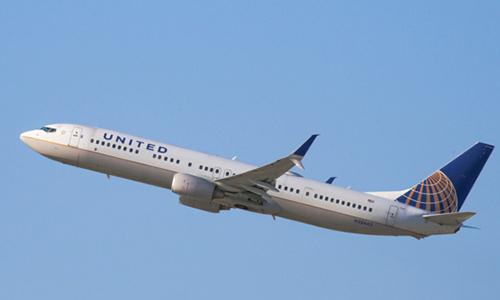 Một máy bay củaUnited Airlines. Ảnh: NYMagazine