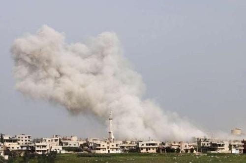 Syria cáo buộc liên quân do Mỹ dẫn đầu không kích