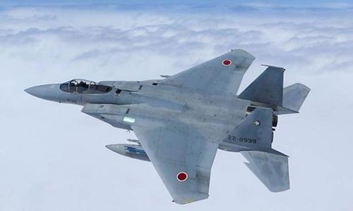 Chiến đấu cơ F-15 của lực lượng phòng vệ trên không Nhật Bản. Ảnh: Military.