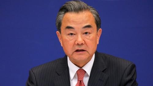 Ngoại trưởng Trung Quốc Vương Nghị. Ảnh: