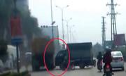 2 hung thần xa lộ đâm nhau ở Bắc Ninh