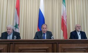 Nga - Syria - Iran yêu cầu Mỹ ngừng tấn công Syria