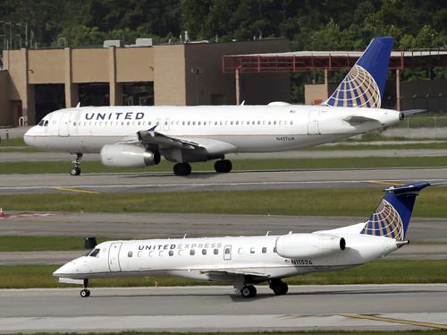Máy bay của hãngUnited Airlines