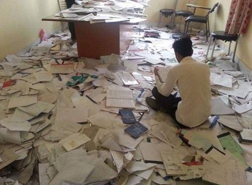 Một ngày trước khi thi.