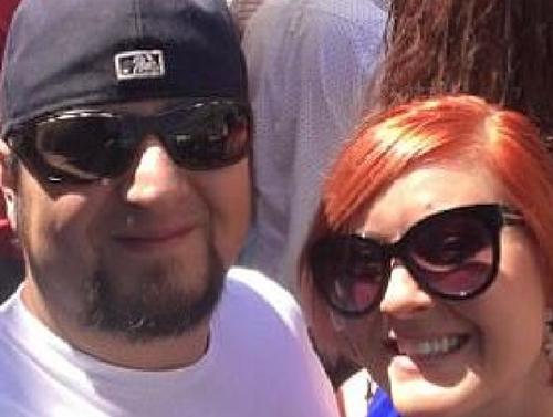 Michael Hohl và vợ sắp cưới Amber Maxwell. Ảnh: news.com.au.