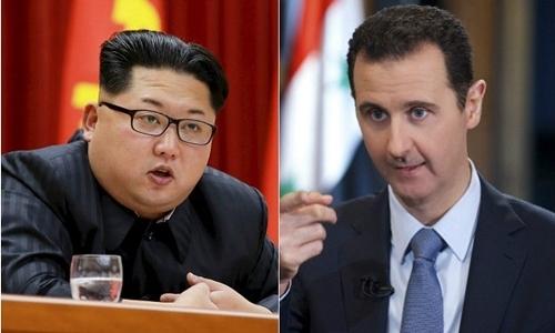 Kim Jong-un trực tiếp lên án Mỹ không kích căn cứ Syria