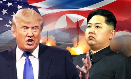 Mỹ Triều Tiên lên gân