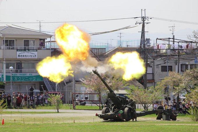 Quân đội Nhật diễn tập bắn đạn thật khoe sức mạnh tác chiến