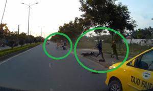 Công an Hội An truy đuổi tên cướp suốt 10 km