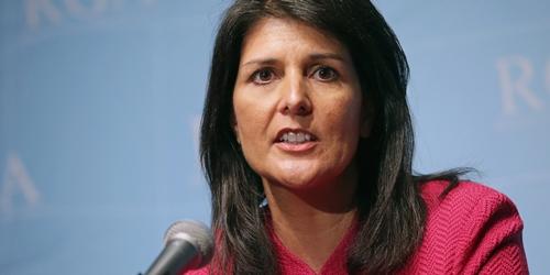 Đại sứ Mỹ tại Liên Hợp Quốc Nikki Haley. Ảnh: HuffingtonPost