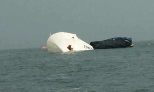 Tàu hải cảnh Trung Quốc bị đâm chìm