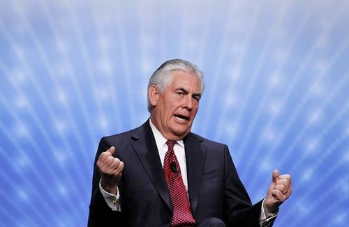 Ngoại trưởng Mỹ Rex Tillerson. Ảnh: WSJ