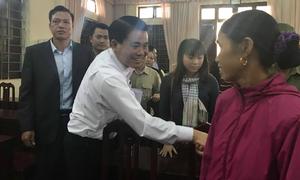 Chủ tịch Nguyễn Đức Chung đối thoại với người dân Đồng Tâm