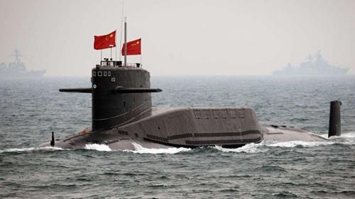 Một tàu ngầm của Trung Quốc. Ảnh: SCMP