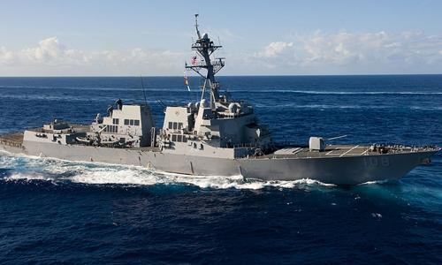 Tàu khu trục tên lửa dẫn đường USS Wayne E. Meyer. Ảnh: Wikipedia