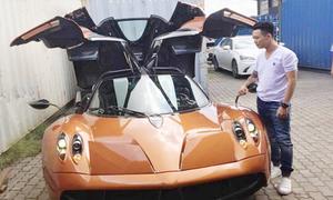Những siêu xe triệu đôla của Minh 'Nhựa' gây sốt cộng đồng