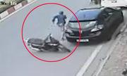 Những tên trộm cướp vứt xe máy, bỏ chạy trối chết
