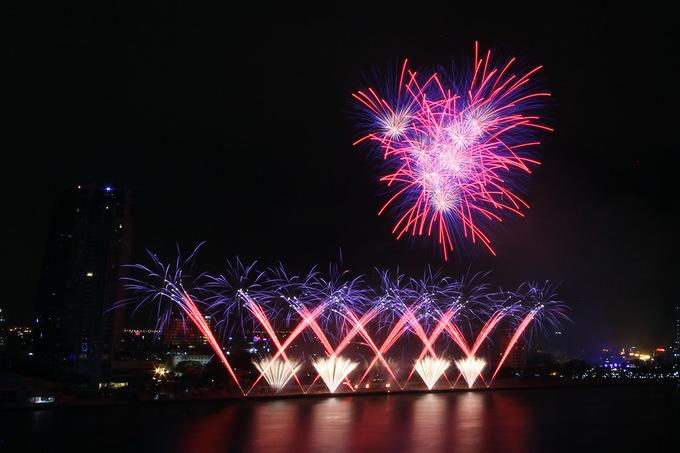 Sông Hàn rực sáng pháo hoa quốc tế