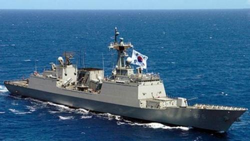 Một tàu chiến của Hải quân Hàn Quốc. Ảnh: Stuff