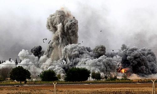 352 dân thường thiệt mạng kể từ khi liên minh quốc tế bắt đầu không kích Nhà nước Hồi giáo năm 2014. Ảnh minh họa: AFP.
