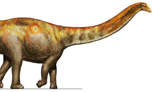 Hình ảnh phục dựng về loài khủng long Galeamopus pabsti sống ở kỷ Jura tại Wyoming, Mỹ. Ảnh: phys.org.