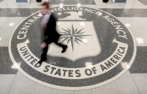 Sảnh trụ sở CIA tại Langley, bang Virginia. Ảnh: Reuters