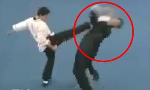 Cao thủ Thái cực quyền bị đánh te tua vì ra đòn quá chậm