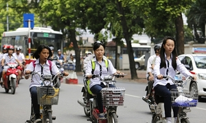 Xe đạp điện 'kích tốc' nhanh như xe máy