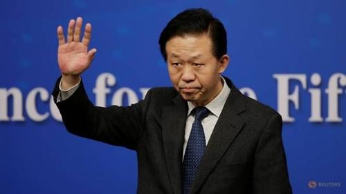 Bộ trưởng Tài chính Trung Quốc Tiêu Tiệp. Ảnh: