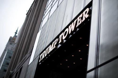 Tháp Trump tại Đại lộ 5, New York. Ảnh: Reuters