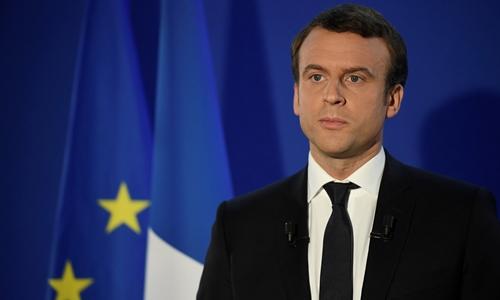 Tổng thống Pháp đắc cử Emmanuel Macron. Ảnh: Reuters.