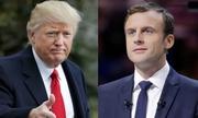 Trump chúc mừng Macron đắc cử tổng thống Pháp