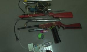 Sản xuất súng tự chế ngay khu dân cư
