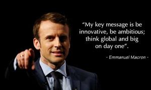 Học tiếng Anh qua những câu nói hay của tân tổng thống Pháp