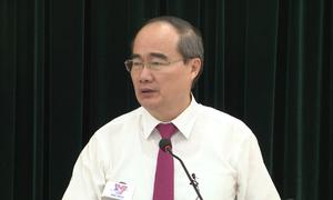 Bài phát biểu 9 phút của tân Bí thư thành ủy Nguyễn Thiện Nhân