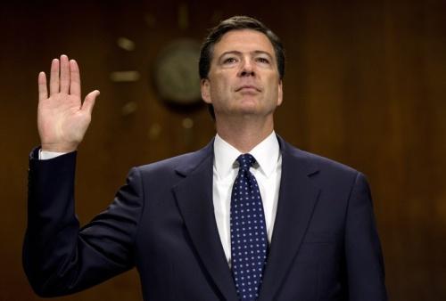 Ông James Comey, người vừa bị sa thải chức giám đốc FBI. Ảnh: AP