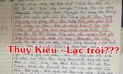 Khi fan cuồng Sơn Tùng làm văn tả Thúy Kiều